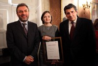 IBM Scientific Award 2010 awarded to Alexandra Silva