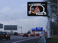 Motorway traffic control benefits from EU C4C project