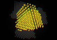 Nature-article: Visualization of individual atoms inside tiny particles