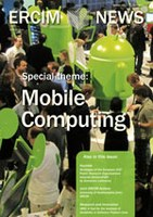 ERCIM News on Mobile Computing published