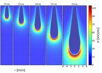 Streamers in lightning better understood by new mathematical model