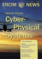 Four Dutch contributions to ERCIM News 97 on Cyber-Physical Systems