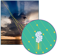 Start of lightning explained: hail and cosmic particles