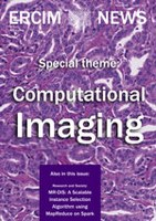 ERCIM News 108 on Computational Imaging co-coordinated by Joost Batenburg