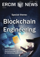 ERCIM News 110 focuses on Blockchain Engineering