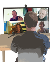 Personal Quality of Experience for Multi-Party Desktop Video-Conferencing