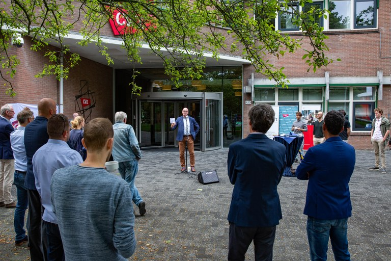 Speech of Ton de Kok, director CWI and member of the Supervisory Board of Quantum.Amsterdam, during the quantum collaboration celebration event on 14 July 2021.