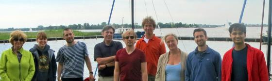 photo of the Multiscale Dynamics group