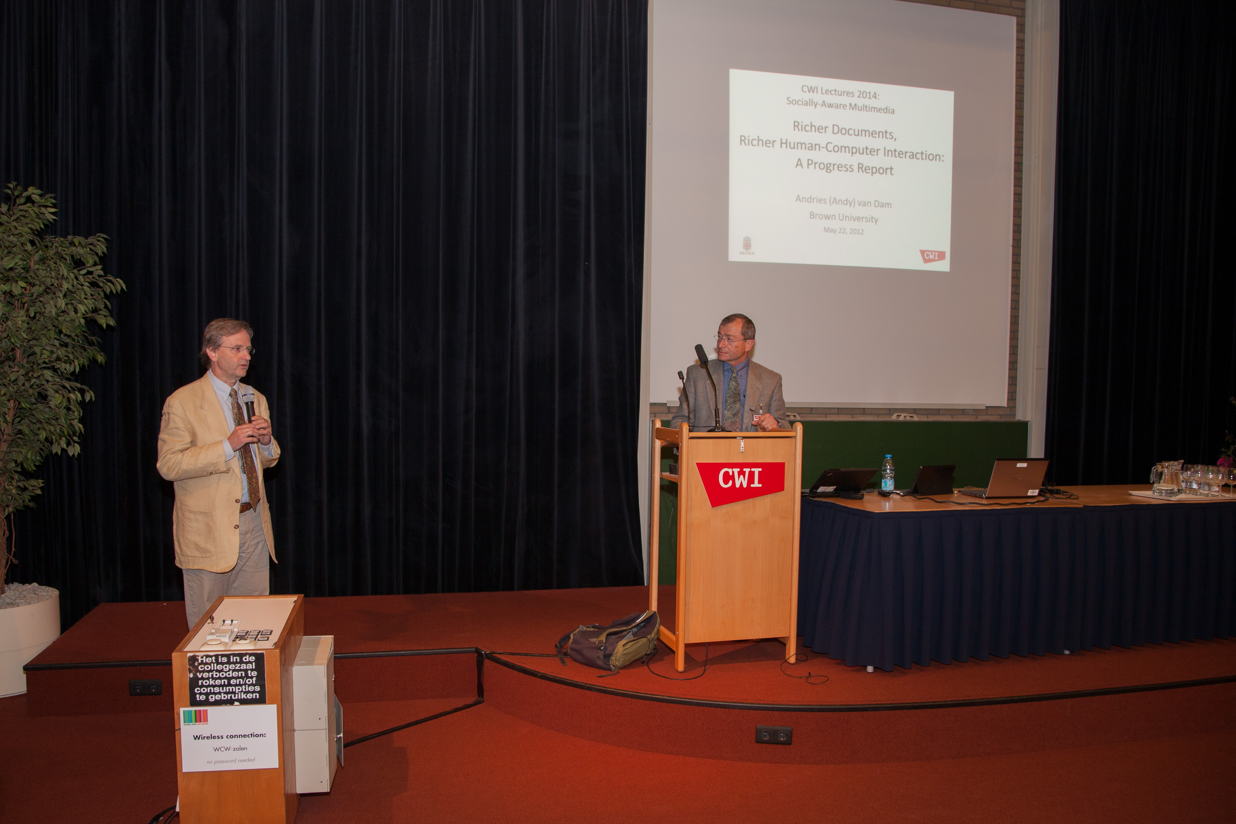 Talks on Lectures 2014