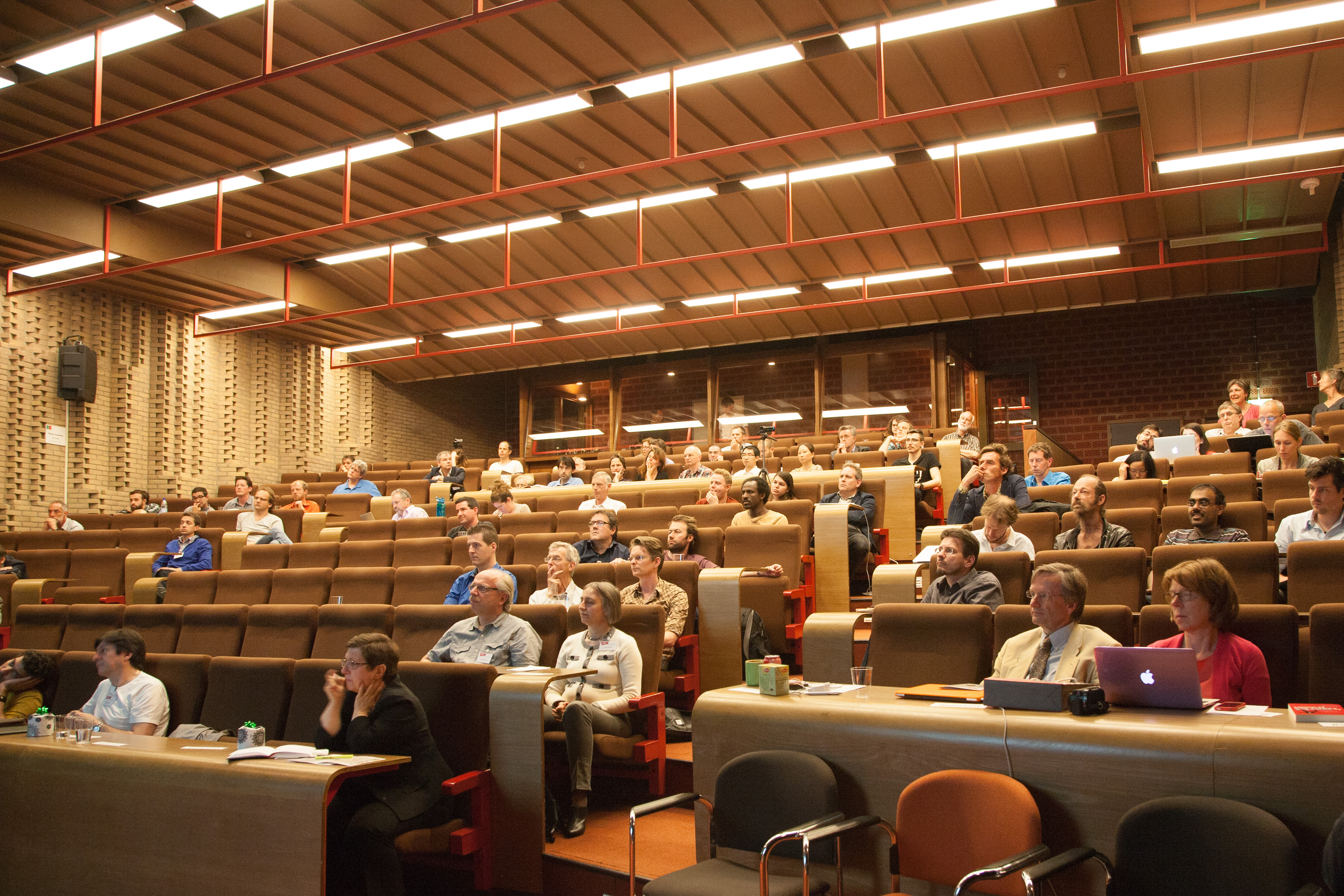 Lectures audience