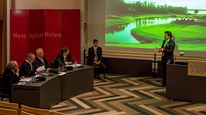 PhD defence of Aram Markosyan in 2014