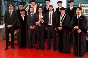 Promotores at PhD defence of Aram Markosyan