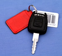 electronic car key (Shutterstock)